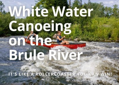 Whitewater Canoeing on the Brule